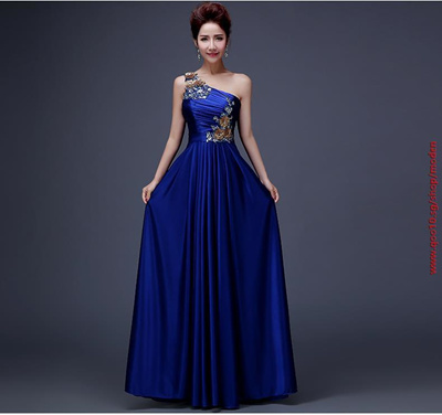 Qoo10 - Custom Purple A-line Party Lace Evening dress Gowns Robe De ...