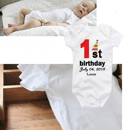 53335bf2471 Qoo10 - 1st Birthday Romper   Baby   Maternity