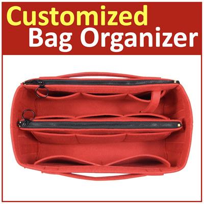 984f96cacd68 [Hush Gecko]Customized Bag Organizer Purse Insert Tote Bag Handbag  Neverfull MM GM Birkin 30 Speedy 30 Le Pliage
