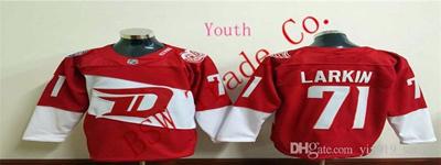 pretty nice 1fb17 20534 Customized Stadium Series Team Premier Jersey Detroit Red Wings Kids  Jerseys #71 Dylan Larkin Red Yo