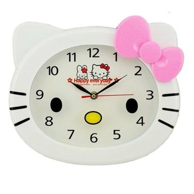 Exceptional Cute Cartoon Hello Kitty Wall Clock Creative Childrens/Kids Bedroom  Decorative Wall Clocks Mute Nice Look