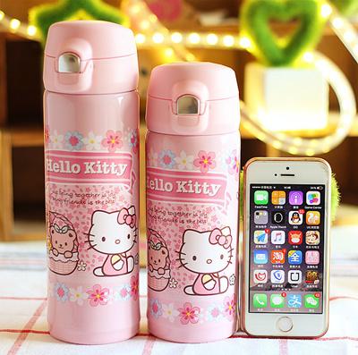 Qoo10 - Cute Doraemon Hello Kitty stainless steel Cup Ladies and children  leak...   Tools   Gardenin. 9cf16612b5