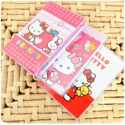 Qoo10 - Cute Hello Kitty notebook 100K color rubber sleeve   Furniture    Deco b8f66520d3cda