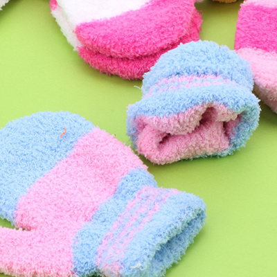 Cute Infant Baby Kid Boys Girls Warm Winter Gloves Toddler Knit Cute Mittens