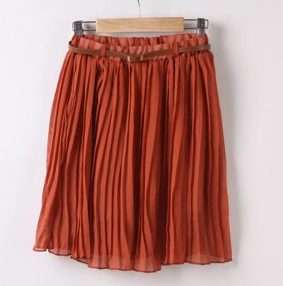 281cf7a88e Qoo10 - Cute Pleated Skirt : Women's Clothing