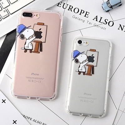 Qoo10 - Cute Cover Case For iPhone 6