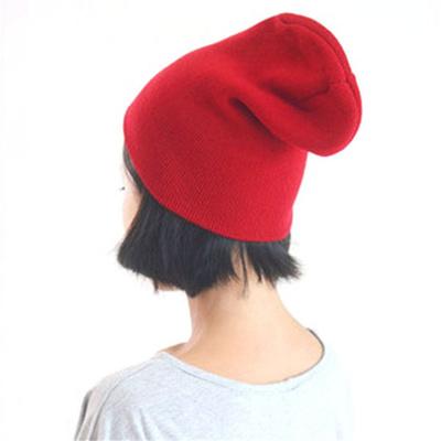 Qoo10 - Cute Winter Warm Plain Beanie Hats Women Cap Slouchy Knit Hat Caps  Mul...   Fashion Accessor. bb48ae6fd