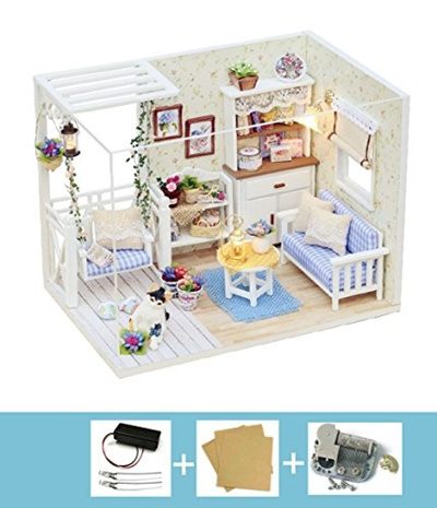 Cuteroom Dollhouse Music Box For Doll House Dollhouse Accessories