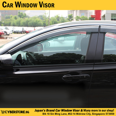 Qoo10 car window visor automotive industry car window visor car accessories nissan qashqai nissan x trail honda vezel honda odyssey mitsubishi fandeluxe Choice Image
