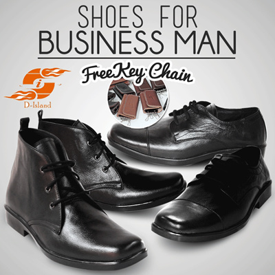 D-Island Shoes Kulit Asli Boots Safety Projack - Dark Brown. Source · Qoo10 - ** NEW DESIGN SHOES FOR MEN ** FORMAL SHOES ** PREMIUM