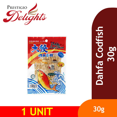 【Dahfa Codfish 30g】Malaysia Product  One of the favourite snack in Malaysia!