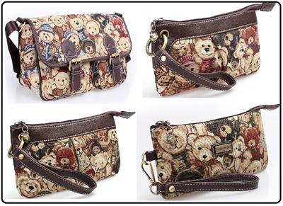 4e9c9e7545 Danny Bieber Wristlet Handbag Shoulder Bag Crossbody Bag Tote Bag Foldable