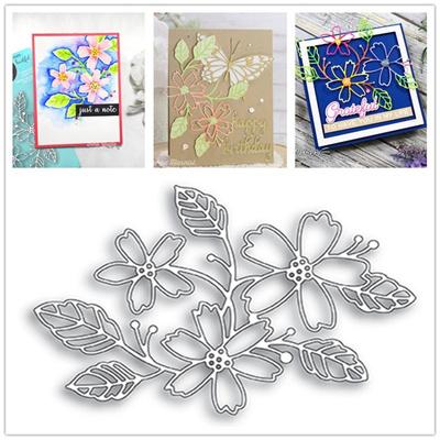 Decoration Metal FLOWER Cutting Dies Stencils for DIY Scrapbooking/photo  Album Decorative Embossing