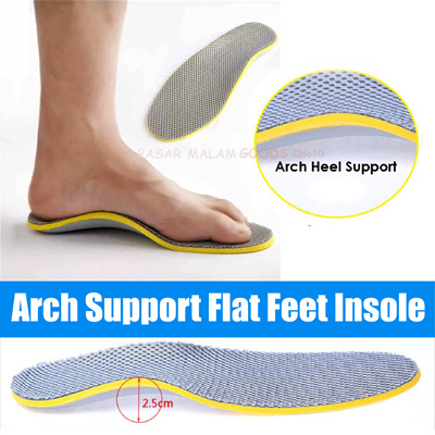 7133802771c Deliver in 3-5 Days Arch Support Flat Feet Insole Plantar Heel Cushion  Shoes Inserts