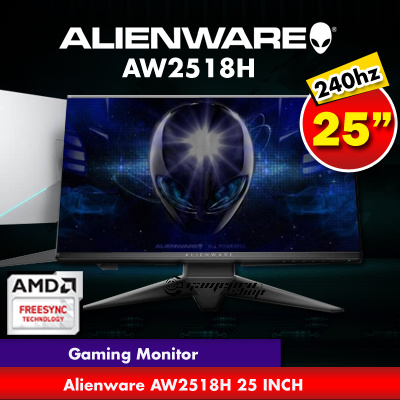 qoo10 it fair promo alienware 25 gaming monitor aw2518h 240hz 1 ms refre computer games. Black Bedroom Furniture Sets. Home Design Ideas