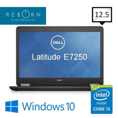 DELL[Refurbished] Dell Latitude E7250 / 12 5in / Core i5 / 8GBRAM /  256GBSSD/ Win10Pro / 30Days Warranty