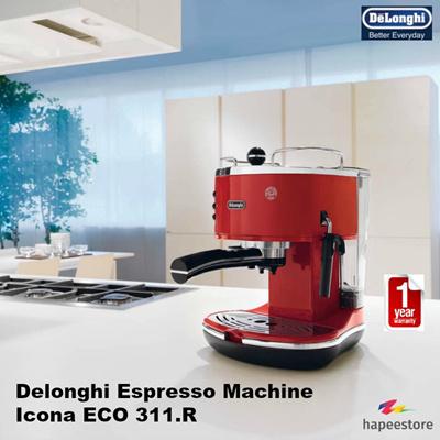 Delonghi Espresso Machine - Icona ECO 311.R (Local Warrranty)