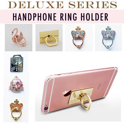 f632e2bd4 Deluxe Series Mobile Handphone Ring iRing Phone Holder iPhone Samsung  Hello  Kitty   Swan  . prev next. 3 items ...