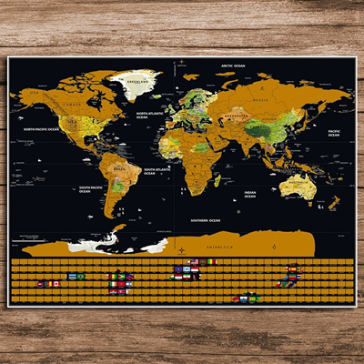 Qoo10 deluxe world map personalized national flag black gold deluxe world map personalized national flag black gold scratch map mini scratch off foil layer gumiabroncs Choice Image