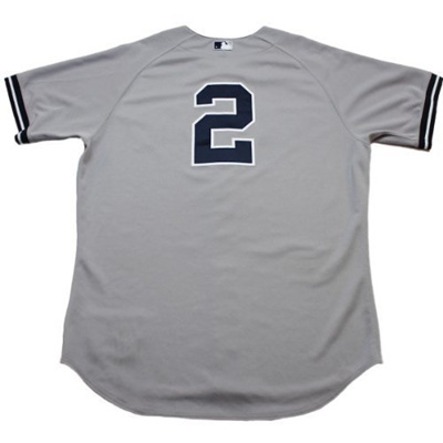 Qoo10 - Derek Jeter Jersey - New York Yankees 2012 Authenticated Game Worn   2 ...   Collectibles   B.. ebe5cf40287