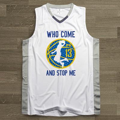competitive price 83e04 1ceec design men basketball jersey top unims okc thunder no.13 paul george sports  clothing mesh