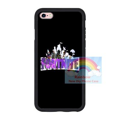 finest selection d29d9 78e67 Designs Fortnite Iphone 6 6plus 7 7plus TPU Case Fortnite Battle Royale  Samsung S7 S8 Cover Black S
