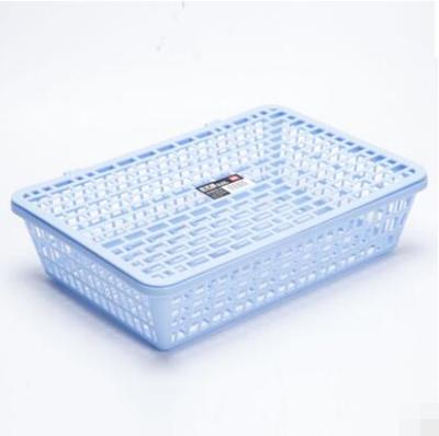 Desktop plastic with cover file storage basket  sc 1 st  Qoo10 & Qoo10 - Desktop plastic with cover file storage basket : Stationery ...