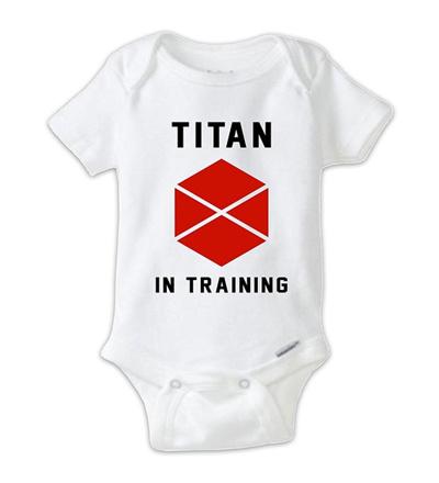 Qoo10 Destiny 2 Titan In Training Baby Bodysuit Destiny Onesie