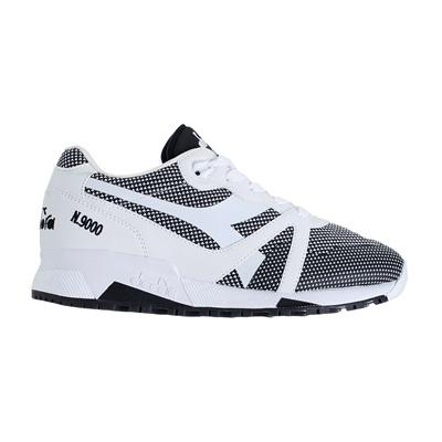 4ed7baaa [Diadora] N9000 ARROWHEAD (171099) Optical White/black Sneakers