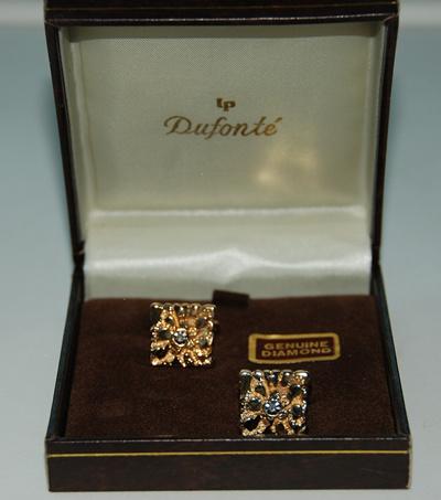 diamond cufflinks lucien piccard dufonte genuine diamond mens cufflinks great for gifts groom