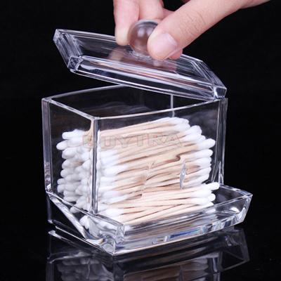 Holder Box Cotton Swabs Stick