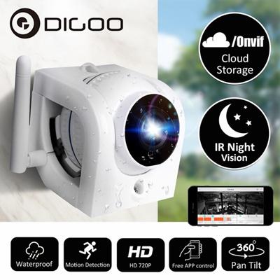 Digoo 720P HD Waterproof Outdoor WIFI Security CCTV IP Camera Monitor  Motion Detection Alarm Onvif C