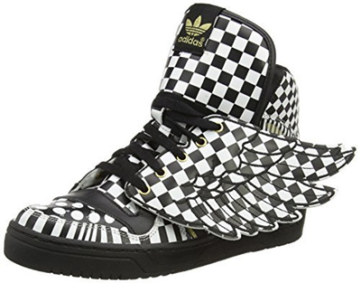 Direct from Germany adidas Jeremy Scott JS wings Opart mens leather of high sneakers shoes