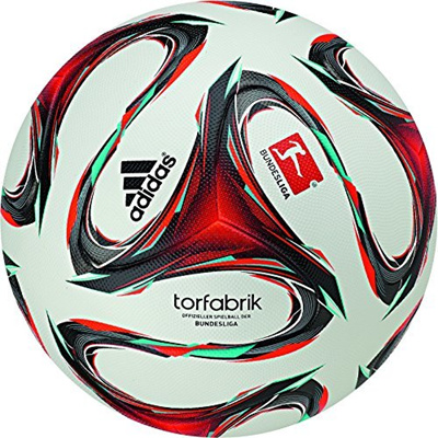 Direct From Germany Adidas Official Spelball Of The Fussball Bundesliga Germany White Red Minzgrun 5 F93564