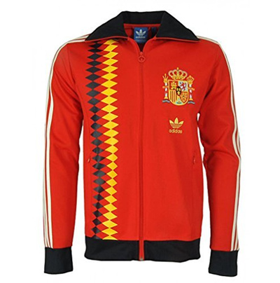 hot sale hot sale order Direct from Germany - Adidas originals football fan retro jacket track top  TT jacket retro DFB FEF Germany Spain sports...