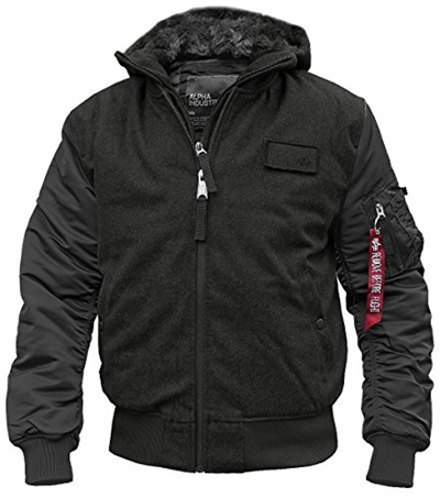 new style fa109 a9219 Direct from Germany - Alpha Industries MA-1 D-Tec Wool Fliegerjacke