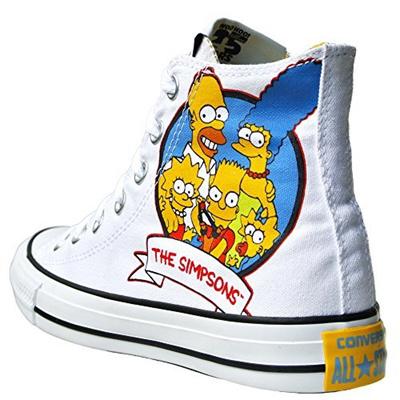 kup popularne sekcja specjalna nowe przyloty Direct from Germany - Converse Chuck Taylor All Star High Simpsons Sneaker  5.0 US - 37.5 EU