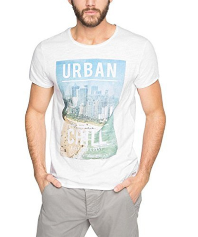 reasonable price casual shoes beauty Direct from Germany - edc by ESPRIT Herren T-Shirt 056cc2k029 - Beach Hotel