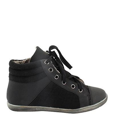 Qoo10 Direct From Germany High Top Sneaker In Filz Look Damen
