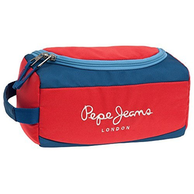 best service d3104 58fcc Direct from Germany - Pepe Jeans 6314451 Bicolor Boy Kosmetikkoffer, Rot