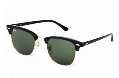 fef13fc5eacb0a Direct from Germany - Ray Ban Sonnenbrille Clubmaster Schwarz/Gold