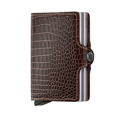 Direct From Germany Secrid Wallets Twinwallet Visitenkartenetui 7 0 Cm Leder Brown