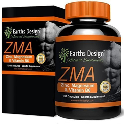 [Direct from Germany] ZMA, mineral-vitamin supplements of the highest  quality and with effective benefits: supports mus