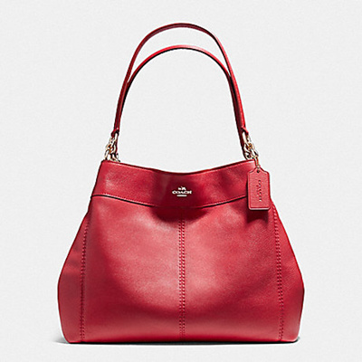 6882c4809 DIRECT SHIPMENT FROM USA - COACH - LEXY SHOULDER BAG IN PEBBLE LEATHER -  F57545