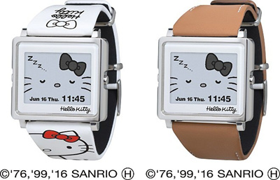 ☆DIRECT SHIPPING FROM JAPAN☆Epson Sanrio Hello kitty smart canvas watch e318eb76f4