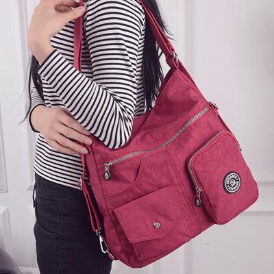 Qoo10 - discount JINQIAOER Women Shoulder Bags Waterproof Nylon Lady Sling  Mes...   Bag   Wallet 870630c04d99e