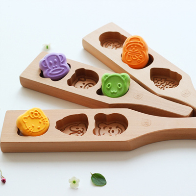 Disney Character Wooden Mooncake Mould