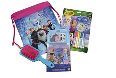 Disney Frozen Fun Bundle 4 Items Magnetic Play Set Coloring Book With Markers
