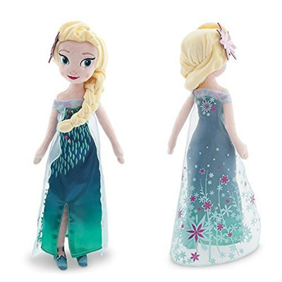 cad4d97d8e4 Qoo10 - Disney Frozen Princess Elsa Plush Doll of Disney Frozen Fever - 20  -...   Toys