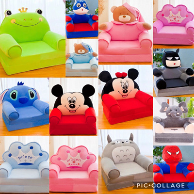 Fabulous Disneykids Sofa Mickey Minnie Stitch Spiderman Batman Foldable Children Day Bed Machost Co Dining Chair Design Ideas Machostcouk